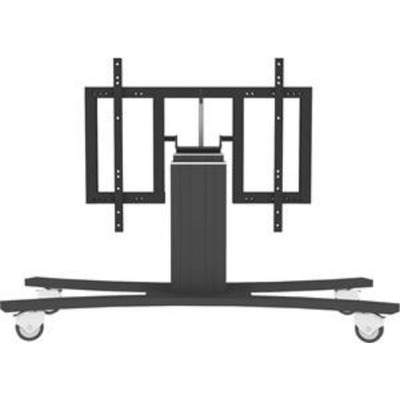 CONEN Clevertouch motorised mobile height adjustable tilt and turn trolley L/A up to 65