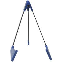 A-Frame Tripod Floor Standing Guitar Stand - Blue