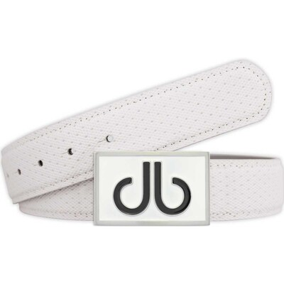 Druh Golf Belt Players Square Leather White 2017