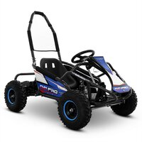 Image of FunBikes Funkart 1000w Blue Electric Kids Go Kart