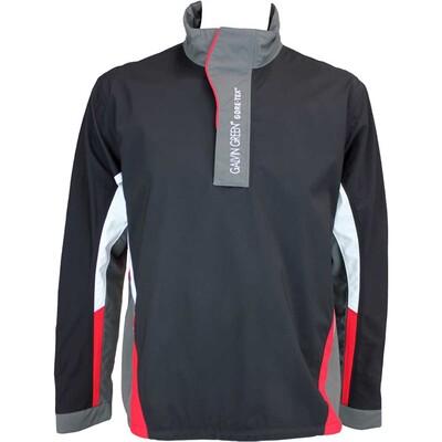 Galvin Green Albin Waterproof Golf Jacket Black Gunmetal