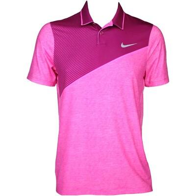 Nike Modern Fit Momentum 26 Golf Shirt Sport Fuchsia AW15