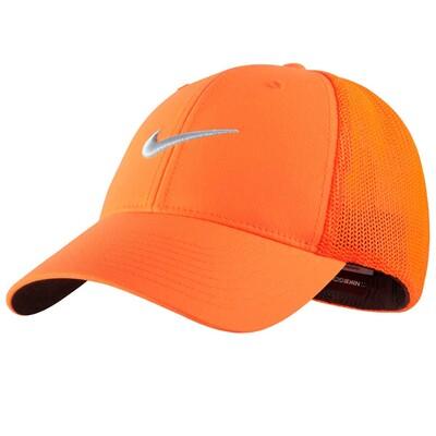 Nike Tour Legacy Mesh Golf Cap Total Orange AW15