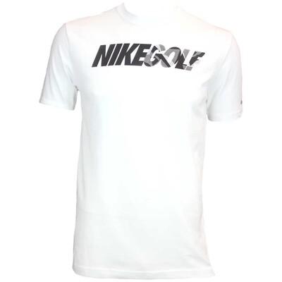 Nike Camo Golf T Shirt White AW15