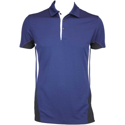 Galvin Green Maddox Ventil8 Golf Shirt Midnight Black AW15