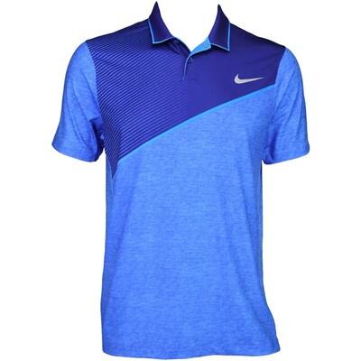 Nike Modern Fit Momentum 26 Golf Shirt Deep Royal AW15