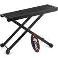 Click to view product details and reviews for Tiger Adjustable Folding Guitar Footstool Black.