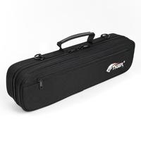 Tiger Padded Flute Carry Case - Black