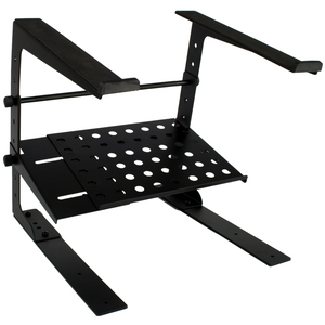 Tiger Laptop Stand Dj Stand With Shelf And Desktop Clamps
