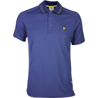 Lyle Scott Golf Shirt 8211 Ayton Tech Navy SS16