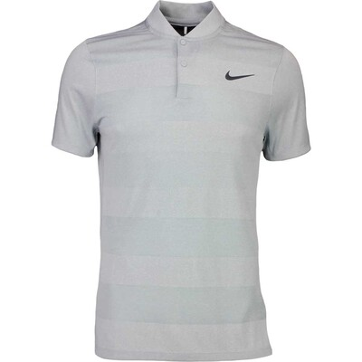 Nike Golf Shirt MM Fly BLADE Stripe Wolf Grey SS16