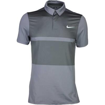 Nike Golf Shirt MM Fly Framing Block Anthracite SS16