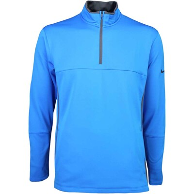 Nike Golf Pullover Therma Fit Cover Up Photo Blue SS16