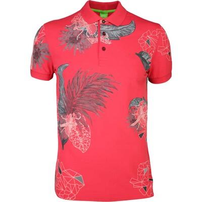Hugo Boss Golf Shirt Paule 8 Rococco Red SP16