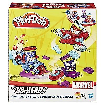 Play Doh Marvel Can Heads Vehicles