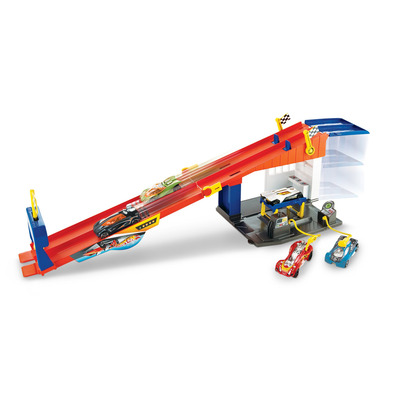 Hot Wheels   Hw City Rooftop Race Play Set