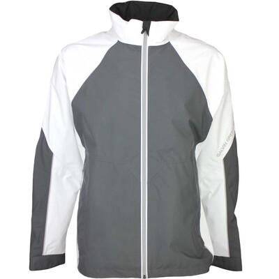 Galvin Green Waterproof Golf Jacket AMOS White Iron Grey