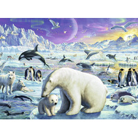 Image of Ravensburger Polar Animals Gathering XXL 300 Piece Jigsaw