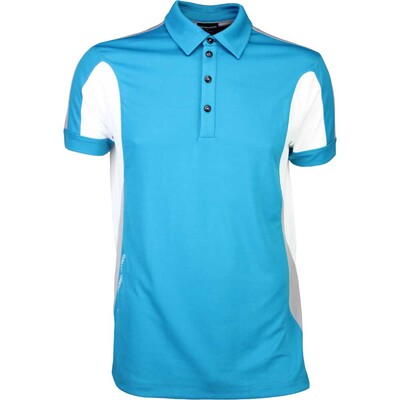 Galvin Green Golf Shirt MARLOW Ventil8 Lagoon Blue SS16