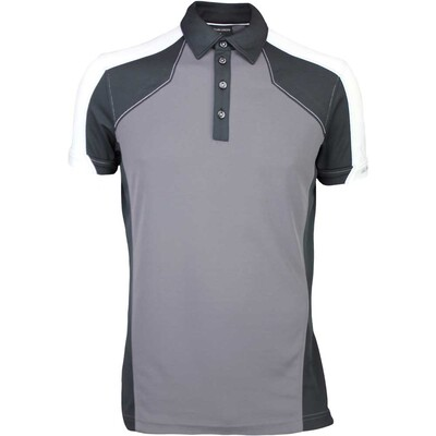 Galvin Green Golf Shirt MARCUS Iron Grey SS16