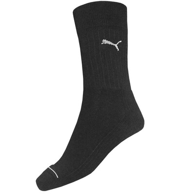 Puma Crew Socks Cotton Multi Sport 2 Pack Black AW16