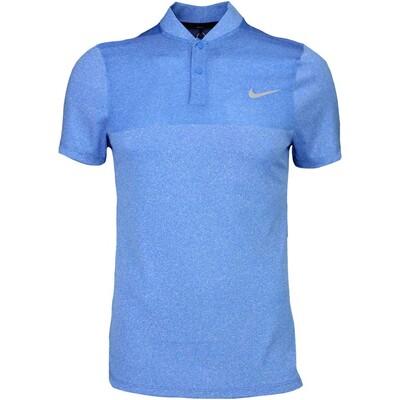Nike Golf Shirt MM Fly BLADE Block Photo Blue SS16