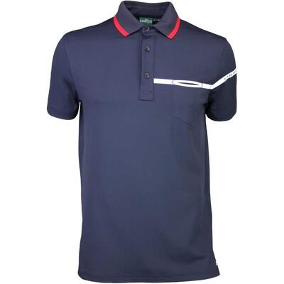 Cherv242 Golf Shirt ANETO Navy SS16