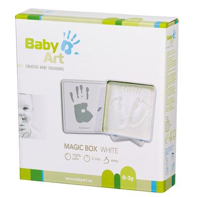 Baby Art Magic Box (White & Grey)