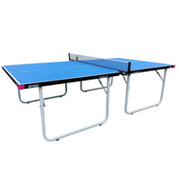 Butterfly Compact 19 Indoor Table Tennis Table - Blue