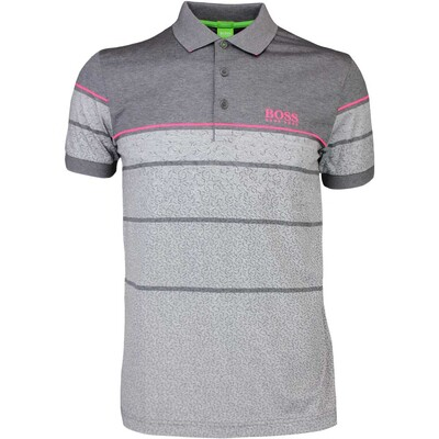 Hugo Boss Golf Shirt 8211 Paddy Pro 2 Medium Grey PF16