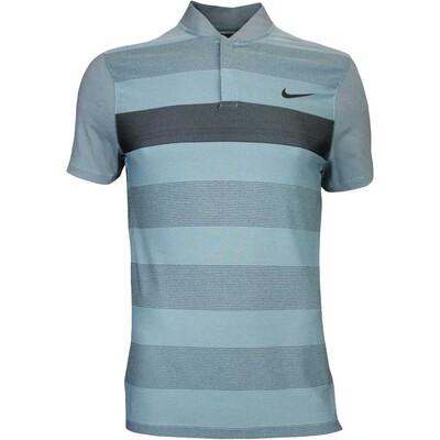 Nike Golf Shirt MM Fly BLADE Stripe Alpha Copa Blue AW16