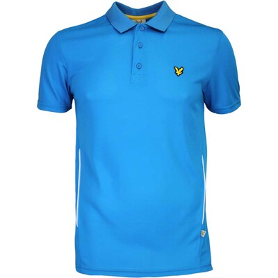 Lyle Scott Golf Shirt Falahill Borders Blue AW16