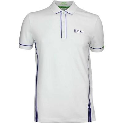 Hugo Boss Golf Shirt Paddy MK 1 Training White FA16