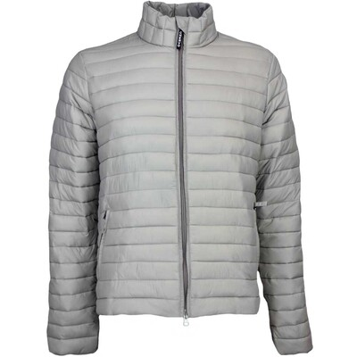 Cherv242 Golf Jacket MIGLIO Quilted Light Grey AW16
