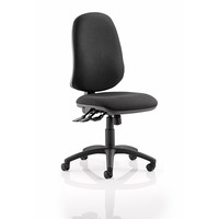 Image of Eclipse XL 3 Lever Task Operator Chair Blue fabric