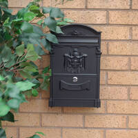 Imperial Black Letterbox