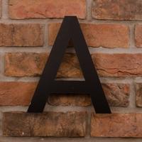 25.5cm Tall Laser Cut Acrylic House Letter A