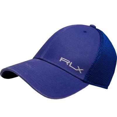 RLX Golf Cap Flex Fit Flag Royal SS17