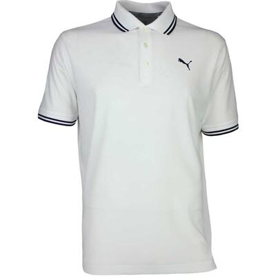 Puma Golf Shirt Pounce Pique Bright White AW17