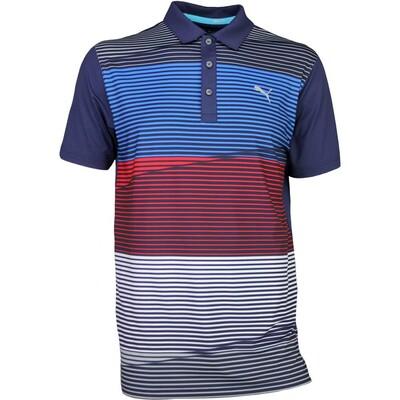Puma Golf Shirt Levels Peacoat SS17