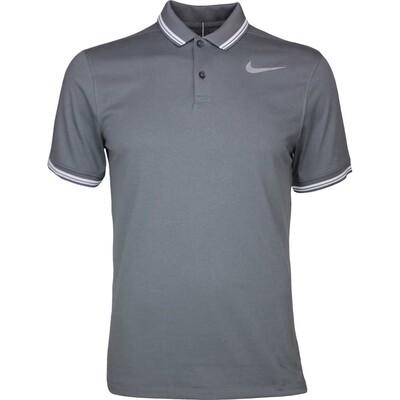 Nike Golf Shirt NK Dry Tipped Dark Grey AW17