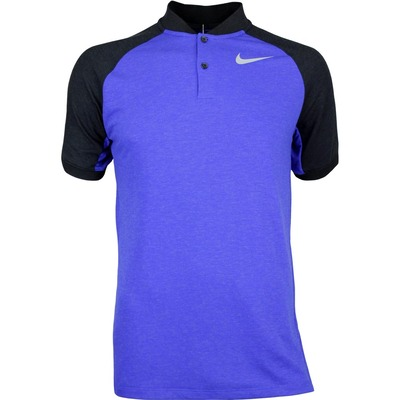 Nike Golf Shirt NK Dry Raglan Blade Deep Night SS17