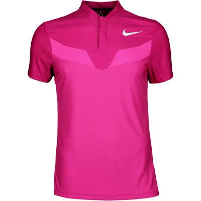 Nike Golf Shirt Zonal Cooling MM Fly Blade Sport Fuchsia SS17