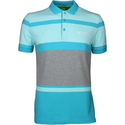 Hugo Boss Golf Shirt Paddy Pro 1 Peacock Blue SP17