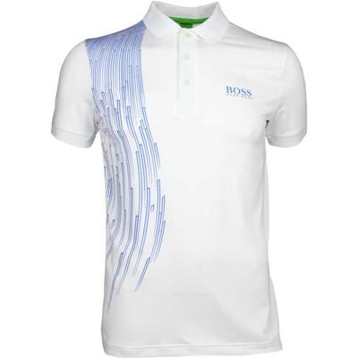 Hugo Boss Golf Shirt Paule Pro 3 Training White SP17