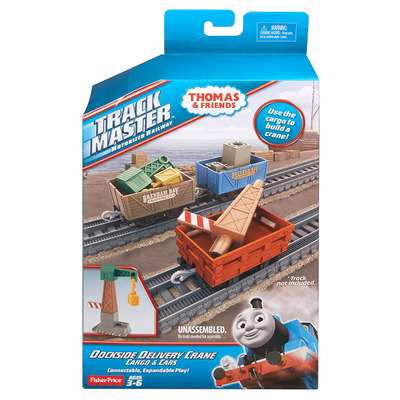 Fisher Price Thomas The Train TrackMaster Dockside Delivery Crane