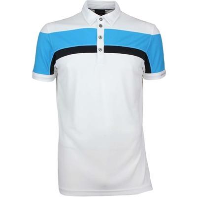Galvin Green Golf Shirt MITCHELL Ventil8 Plus White SS17