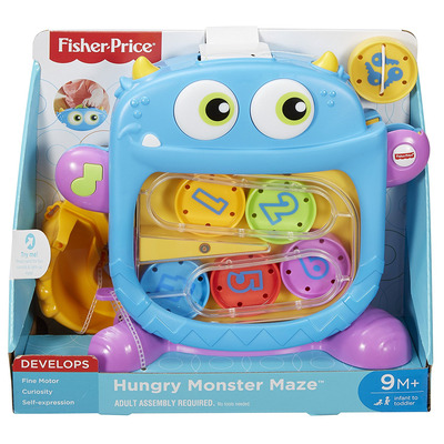 Fisher-Price Hungry Monster Maze Toy
