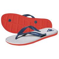 Aqua Sphere Hawaii Pool Sandals - White/Red, 3.5 UK