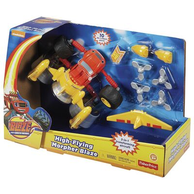 Blaze And The Monster Machines Deluxe Monster Morpher